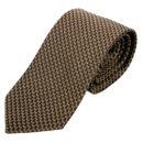 """KEYLER Krawatte """"Basse"""" Braun im Keylershop"""