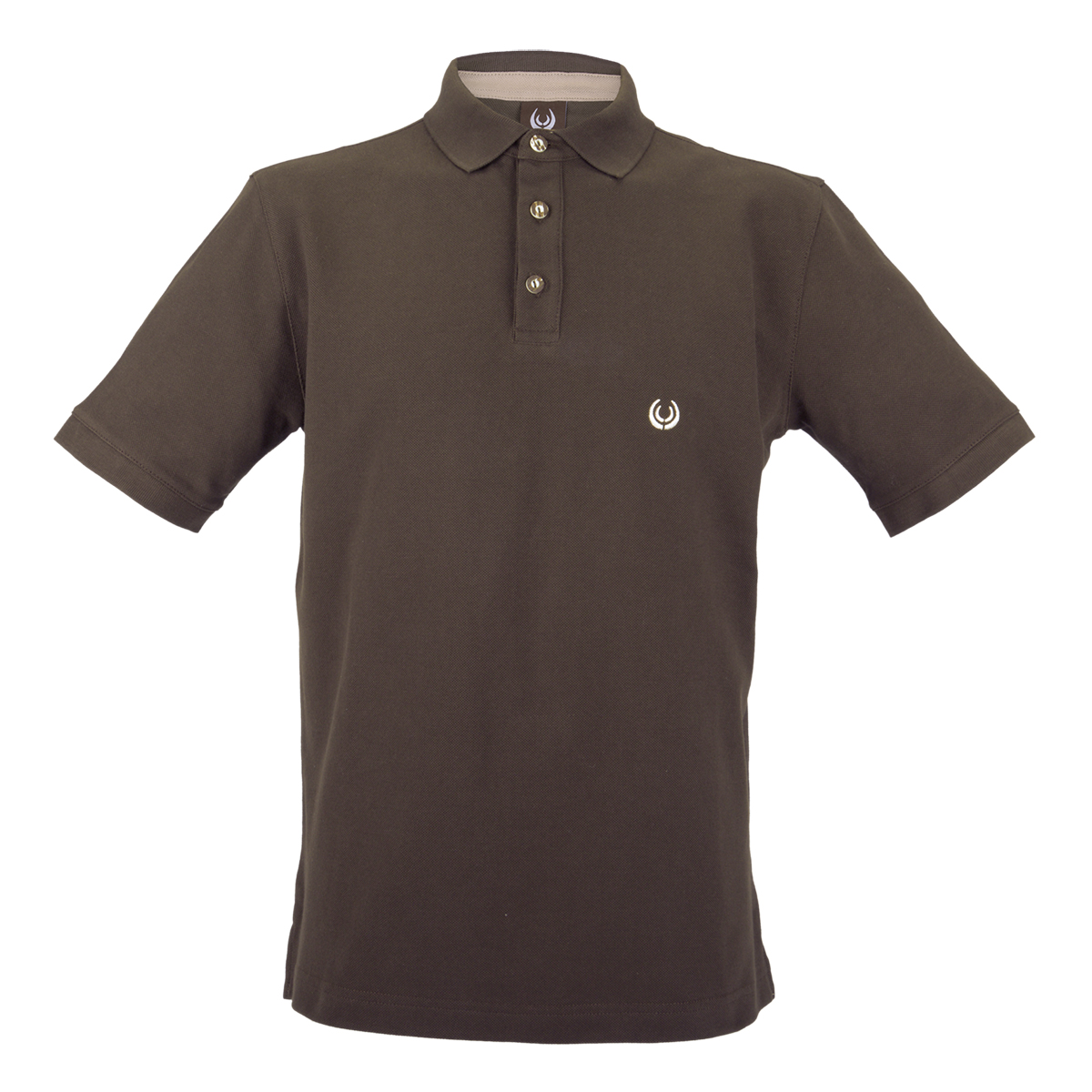 KEYLER Poloshirt Herren Dunkelbraun im Keylershop