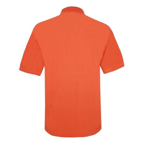 KEYLER Poloshirt Herren Orange-Braun im Keylershop