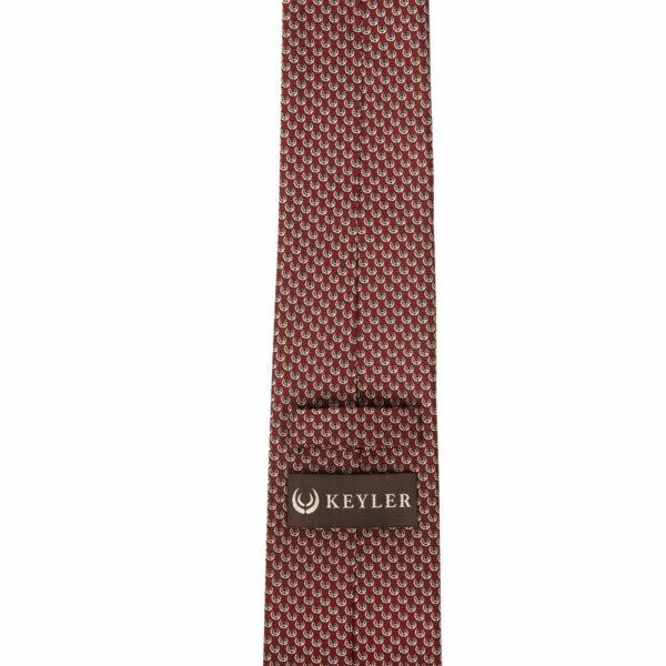 "KEYLER Krawatte ""Basse"" Rot im Keylershop"