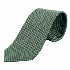 "KEYLER Krawatte ""Basse"" Schilf/Dunkelgrün im Keylershop"