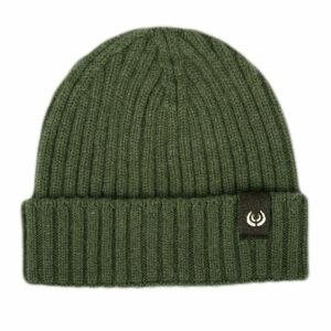 KEYLER Kaschmir Mütze Grün-Meliert im Keylershop