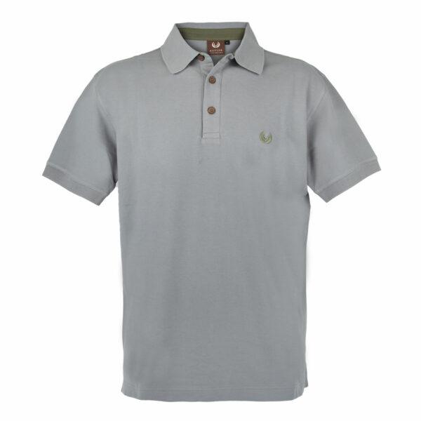 KEYLER Poloshirt Herren Hellgrau im Keylershop