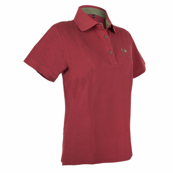 KEYLER Poloshirt Damen Beere im Keylershop