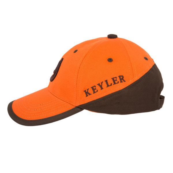 KEYLER Cap Orange/Braun im Keylershop